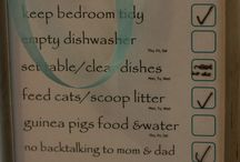 Chores and routines