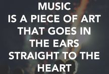 Music is life ❤️ / With music you'll find what you need.
