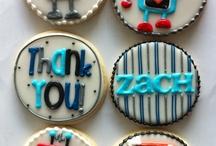 sugar cookies/ thank you