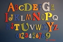 Alphabet Art / by Laura Major@Learning Is Child's Play