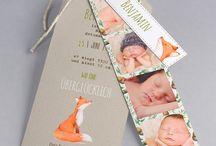 Baby Dankeskarte