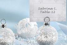 Winter time weddings