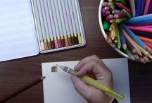 akvarelové malování