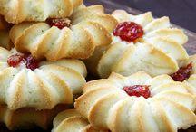 Biscoitos com recheio