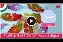 Video sul reciclo intelligente / Tante cose belle usando ciò ke abbiamo a portata di mano