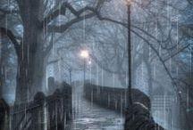 Blue grey colour / Siniharmaa / Blue grey is the colour of misty mornings and rainy days.