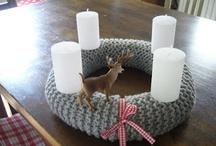 DIY Advent Candle Wreath / Christmas  / by gabipi