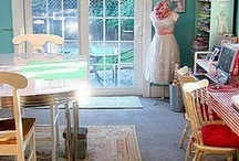Craft Rooms To Envy / I wish! / by Kimberly Winters-Armstrong