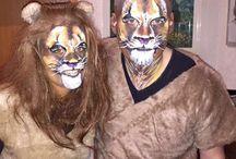Karnevals Kostüme selbst gemacht / Karneval , köstüm, schminken, selber machen , Löwen, Flinstones, X-men, Marvel