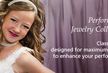 Performance Jewelry Collection / Rhinestones Unlimited Crystal Rhinestone Performance Jewelry.