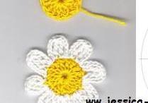 Bloemen crochet