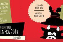 Endulze. Concurso Repostería SanFerminera 2014. / Trabajos presentados en la segunda edición del Concurso de Repostería SanFerminera 2014 organizado por endulze.