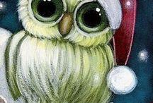 CHRISTMAS PAINTINGS / PAINTINGS
