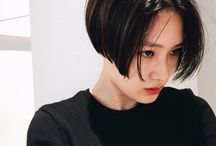 Super-short bob (for hair growers)