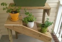 DIY Flower Stand/Bed
