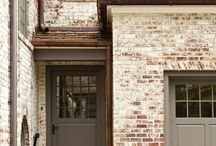 House ideas / Lime washed brick