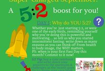 5:2 Supercharge! / All the posts from Supercharged September - though you can use them anytime as a complete 30-day programme to help you 5:2! www.the5-2dietbook.com
