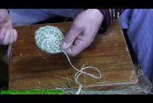 плетение из травы