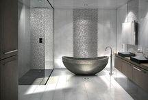 Projet appart' - Salle de bains / Idées rénovation salle de bains atypique et bohème / recup et chic