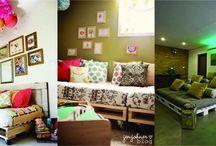 Furniture for pallets