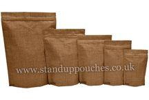 Jute Look High Barrier Bags / Jute Look High Barrier Bags