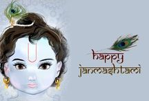 Krishna Janmashtami / Cute Happy Krishna Janmashtami Images 2016 which you can send as Janmashtami Greetings, quotes and messages on Facebook, Twitter, WhatsApp, Email, etc.