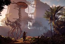 Horizon zero dawn landscapes