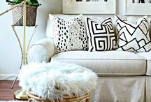 The Black and White Home / black and white home decor, black and white rooms, black and white house, black and white bedroom, black and white living room