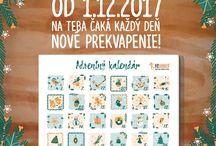 Fitness adventný kalendár 2017 s Fitshaker.sk