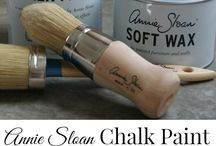 Chalk Paint and Salt Wash Projects