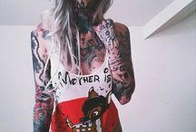 Skin Art / tattoo, inked