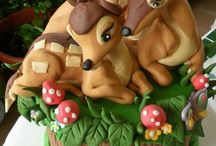 DISNEY : GALLETAS, PASTELITOS Y PASTELES./ DISNEY: COOKIES,CUPCAKES AND CAKES. / by Elvia Padilla