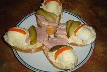 obložené chlebíčky