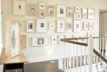 wall art & display ideas / by Karin Belgrave