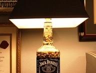 Lampara Botella Jack Daniel