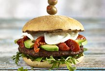 Burger & Hot Dog Recipes / A selection of gourmet burger and hot dog recipes designed to be quick, easy and delicious. And huge!