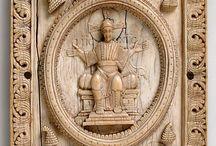 Wood Carved Orthodox Art