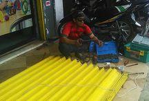 jasa service Rolling Door, Folding Gate, Rolling Grille tlp. 089633665538/083811443437