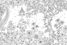 Coloring Pages for Grown Ups!!