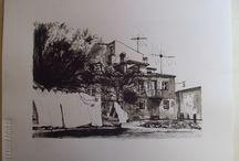Tinta China Obra Personal / Urbano