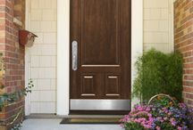 Entry Door Configurations: Single and French Doors / Provia entry door configurations