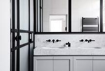 bath, bathroom, toilet , restroom - łazienka - inspiration