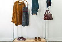 STURDY CLOTHES RACK