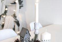 Christmas center pieces
