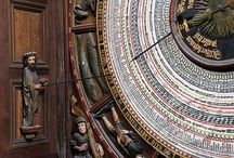 The Rostock astronomical clock in St. Mary's Church, Rostock,1472