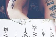 Yoga tattoos