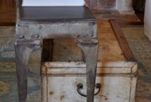 Cajas, maletas y baules /  Ideas para incorporar antiguos baules en vuestra decoración, esos viejos baules llenos de antiguos recuerdos