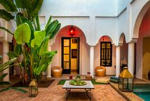 Morocco Riad / Find your perfect Moroccan hotel or Riad by browsing these pins