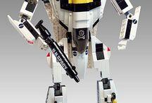 Custom Lego Transformable Models / Folder for my Robotech Macross custom models.
