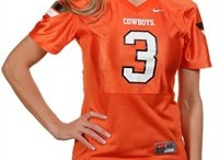 Oklahoma State Cowboys Gear / Savor the adrenaline of gameday with officially licensed Oklahoma State Cowboys apparel and merchandise from the ultimate sports store! Sport your enthusiasm for Oklahoma State University athletics with licensed Oklahoma State Cowboys jerseys, T-Shirts, hats and sweatshirts from Football Fanatics. Get your Oklahoma State clothing and gear from the Ultimate Sports Store and take advantage of our low $4.99 3-day shipping on your entire order! Orange Power! / by Fanatics ®